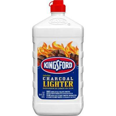 Odorless Charcoal Lighter Fluid 64 oz.