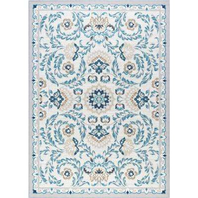 Majesty Cream 8 ft. x 10 ft. Transitional Area Rug