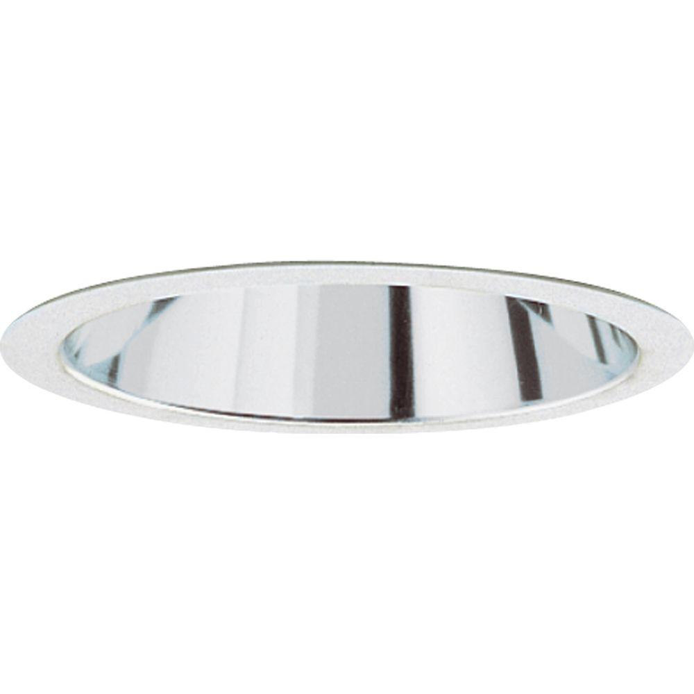 Progress Lighting 6 In Clear Alzak Recessed Reflector Trim
