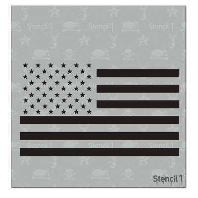 US Flag Small Stencil