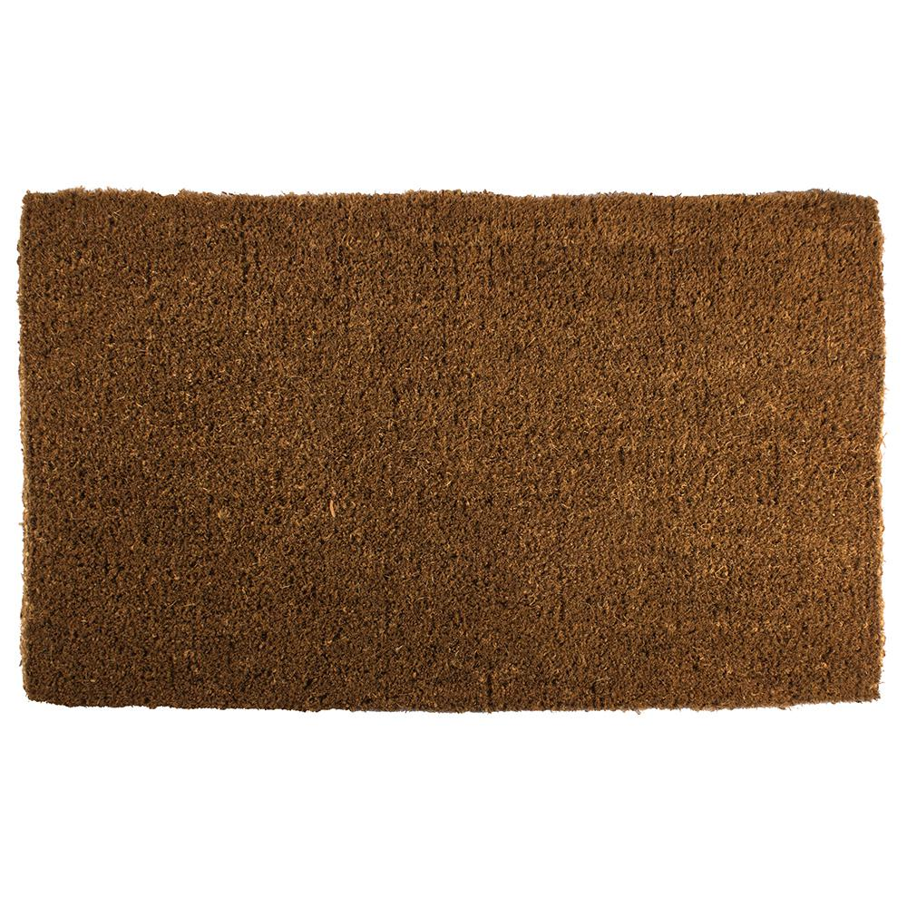 Coir Door Mat Blank Extra Thick Hand Woven Plain Home