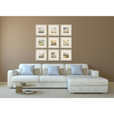 "16 in. x 14 in. ""Atmosphere PK/9"" Framed Wall Art"