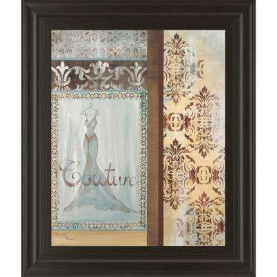 """22 in. x 26 in. """"Couture"""" by Hamkimipour-Ritter Framed Printed Wall Art"""