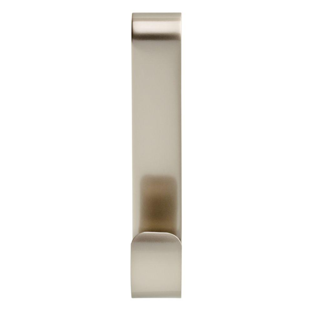 Over-the-Towel Bar Hooks in Brushed Nickel (2-Pack)