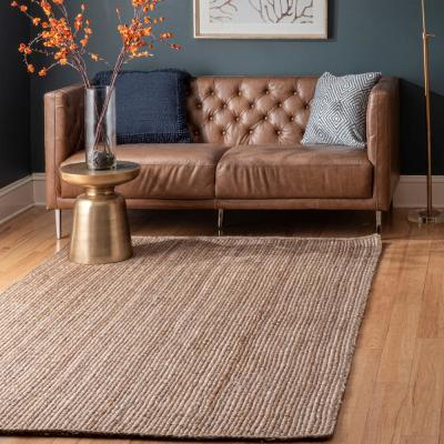 Rigo Chunky Loop Jute Tan 8 ft. x 10 ft. Area Rug