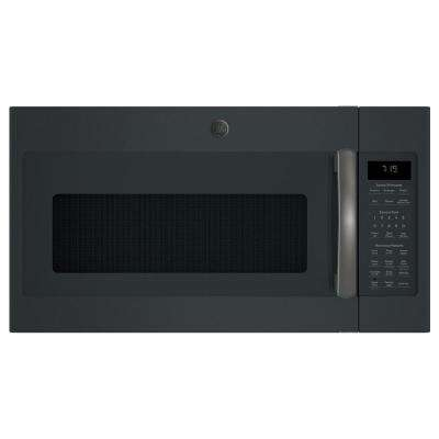 1.9 cu. ft. Over-the-Range Sensor Microwave Oven with Recirculating Venting in Black Slate, Fingerprint Resistant