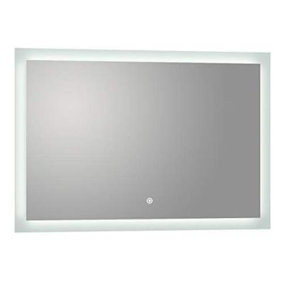Puralite 48 in. x 30 in. Frameless LED Wall Mounted Backlit Vanity Mirror with Built-In Dimmer