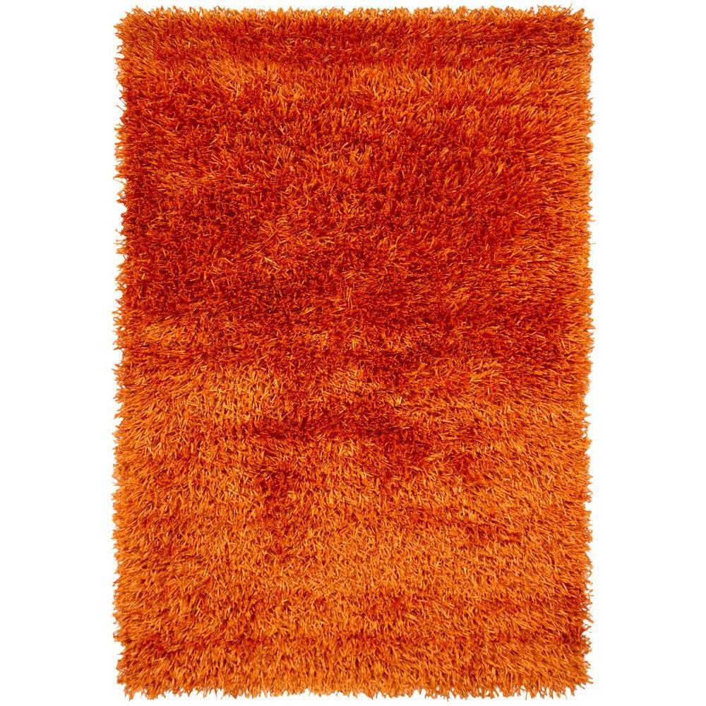 Tirish Orange 5 ft. x 7 ft. 6 in. Indoor Area Rug