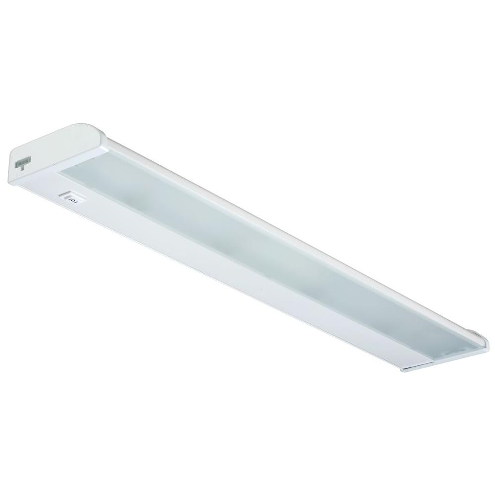 Lithonia Lighting 24 in. White 4-Light 18W Xenon Under cabinet-DISCONTINUED