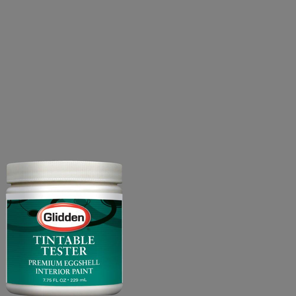 Glidden Premium 8-oz. Seal Grey Interior Paint Tester