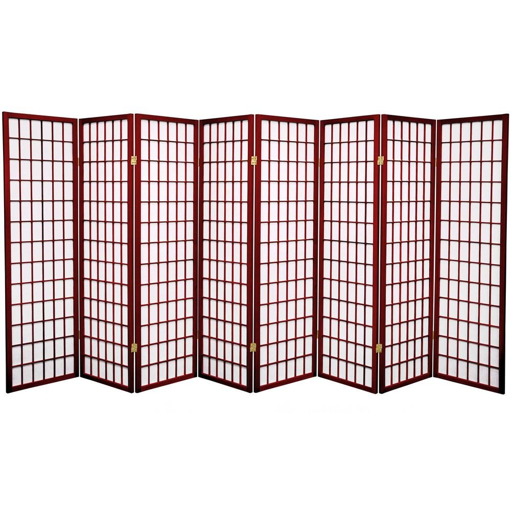 Rosewood 8 Panel Room Divider