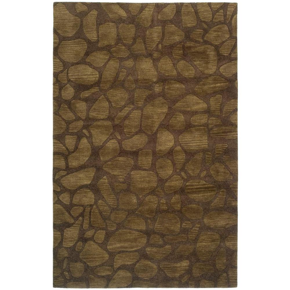 Soho Brown 5 ft. x 8 ft. Area Rug