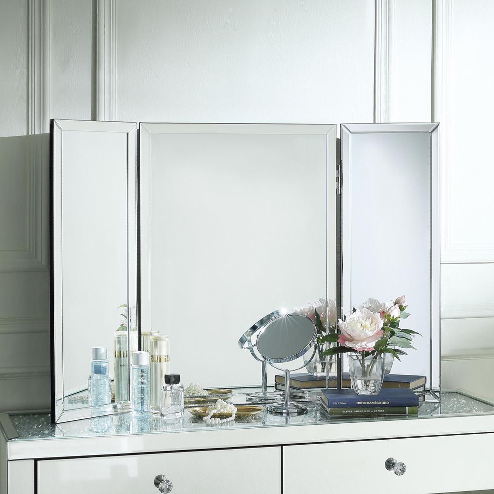 Medium 28X39 Glass Beveled Glass Classic Mirror (27.5 in. H X 1 in. W)