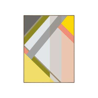 "33.25 in. x 25.25 in. ""Abstract IV"" by Bobby Berk Printed Framed Wall Art"