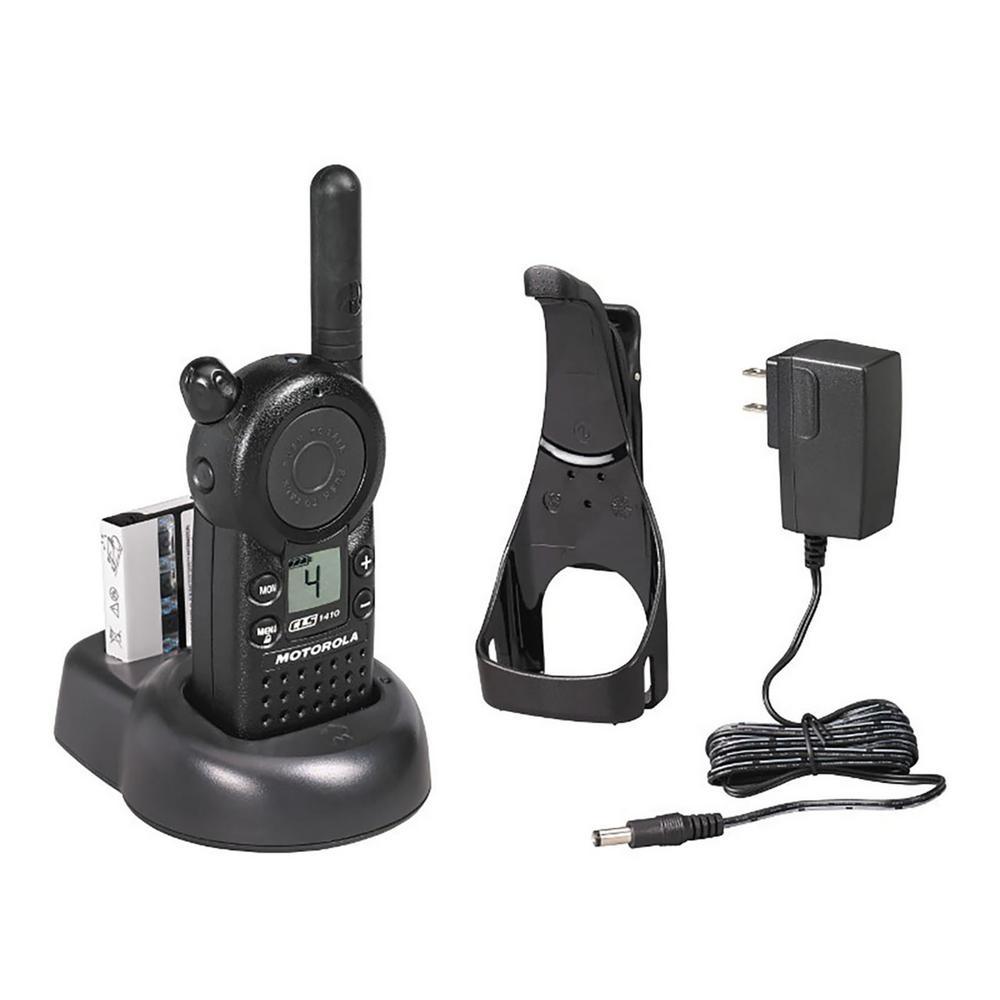 Motorola CLS 1-Watt 4-Channel UHF Business Radio-CLS1410 - The Home Depot