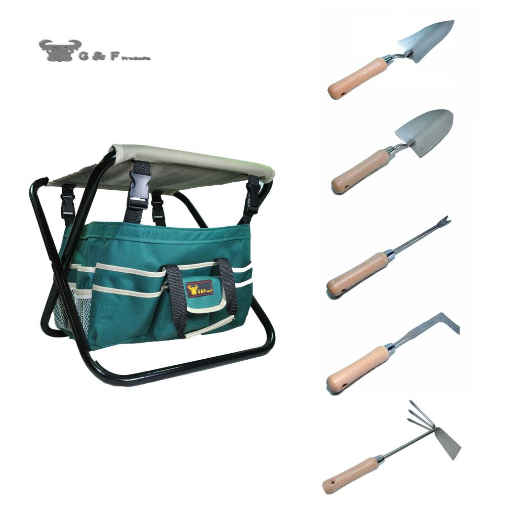 G f 7 piece all in one gardening set 10049 the home depot for Gardening tools 7 letters