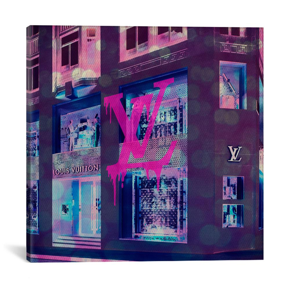 Lv store pop by 5by5collective canvas wall art