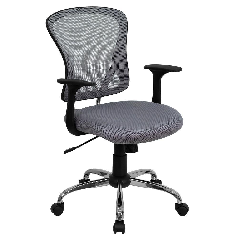 Carnegy Avenue Gray Office/Desk Chair CGA-H-2039-GR-HD