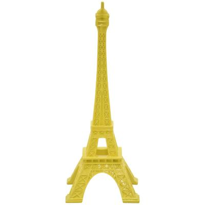 14.5 in. Eiffel Tower Tabletop in Yellow