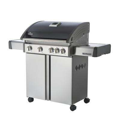 Triumph 495 Natural Gas Grill with Side Burner