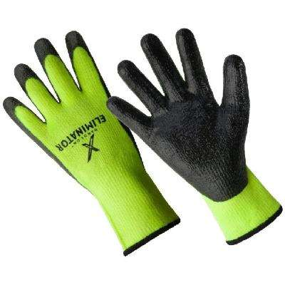 The Eliminator Premium Lined Smooth Finish Nitrile Coated Glove
