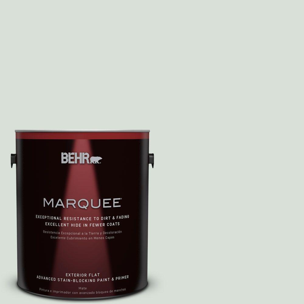 BEHR MARQUEE 1-gal. #N420-1 Juniper Breeze Flat Exterior Paint