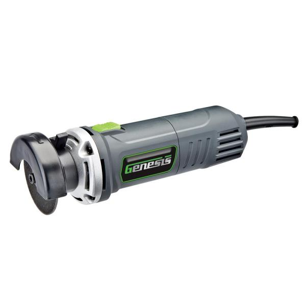 3.5 Amp 3 in. High Speed Corded Cut Off Tool with Quick-Release Adjustable Guard and Safety Switch