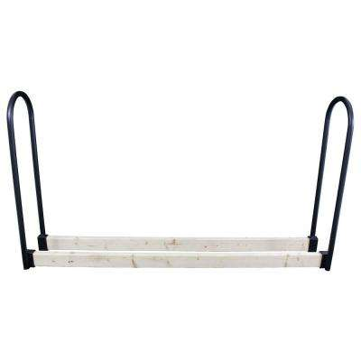 Adjustable Log Rack with Steel Uprights