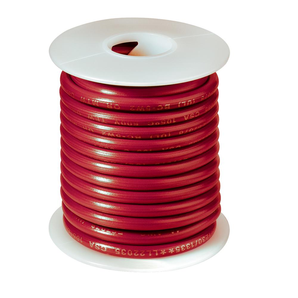 Gardner Bender 14 Awg 18 Ft Primary Wire Spool Red Amw