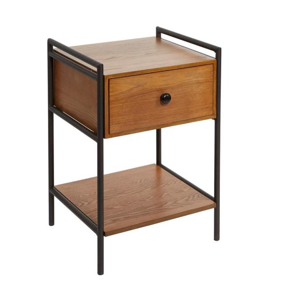 Silverwood Furniture Reimagined ™ Rebekah Black Accent Table CPFH1142A