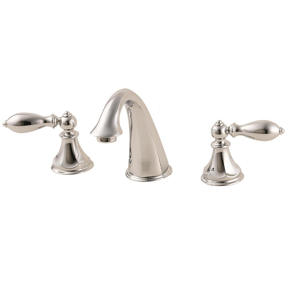 Catalina 8 in. Widespread 2-Handle Bathroom Faucet in Polished Chrome