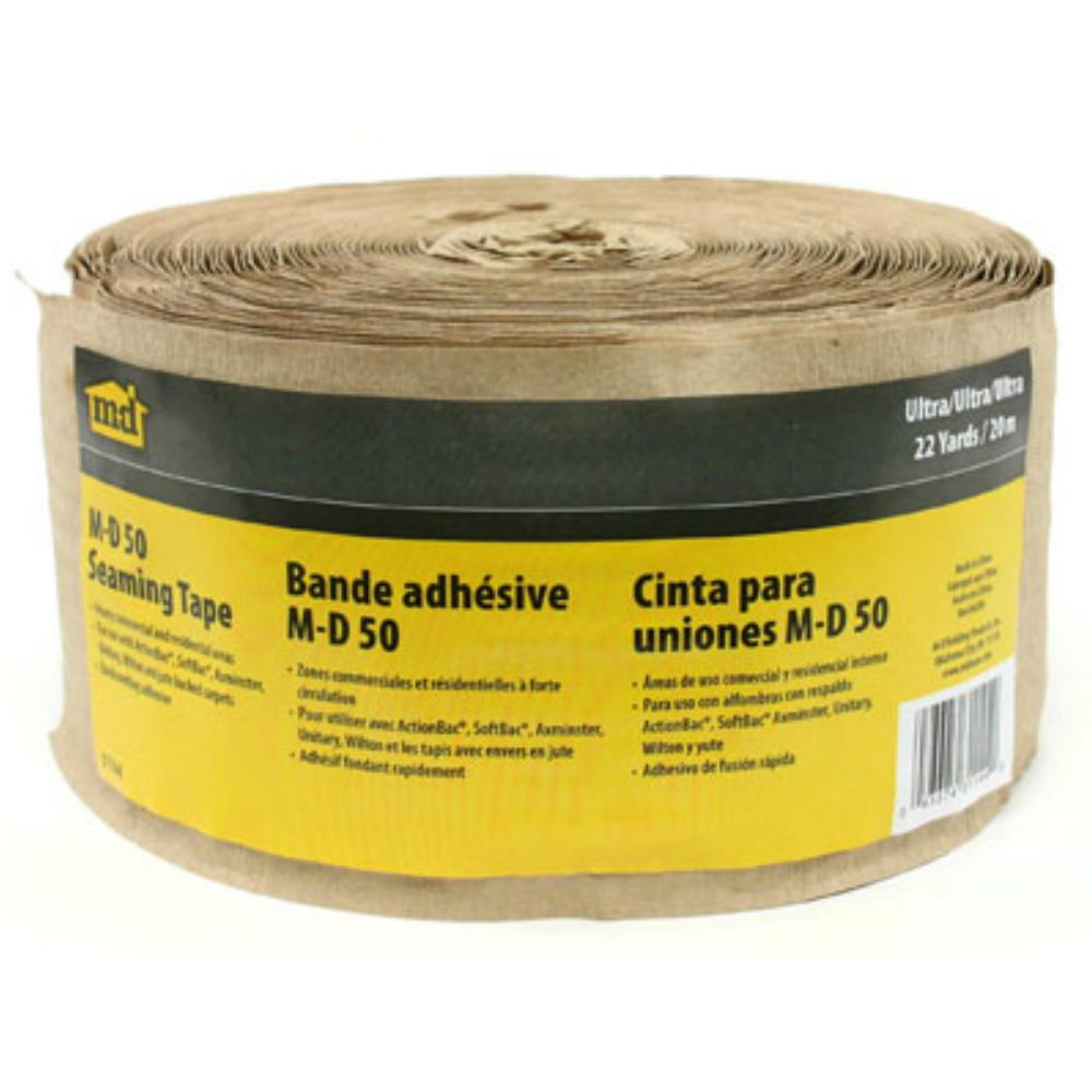 M-D Building Products Ultra 3 in. x 66 in. Hot Melt Carpet Seaming Tape