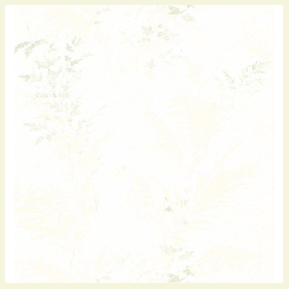 Textured Fern Wallpaper