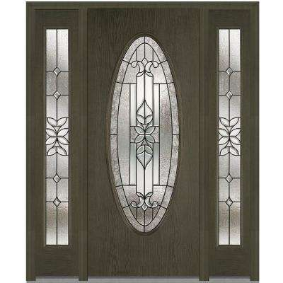 68.5 ...  sc 1 st  The Home Depot & Oval Lite - Doors With Glass - Fiberglass Doors - The Home Depot