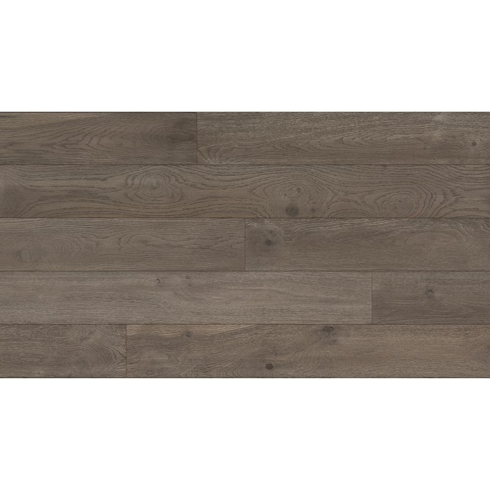 Oak Dexter 1/4 in. T x 5 in. W x Varying Length Water Resistant Engineered Hardwood Flooring (16.68 sq.ft)