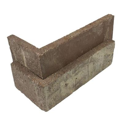 Little Cottonwood Thin Brick Singles - Corners (Box of 25) - 7.625 in x 2.25 in (5.5 linear ft)