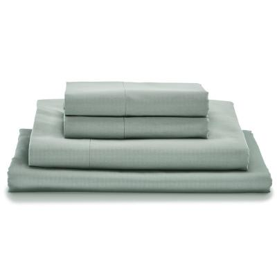Giza Light Gray Twin XL Bed Sheet Set