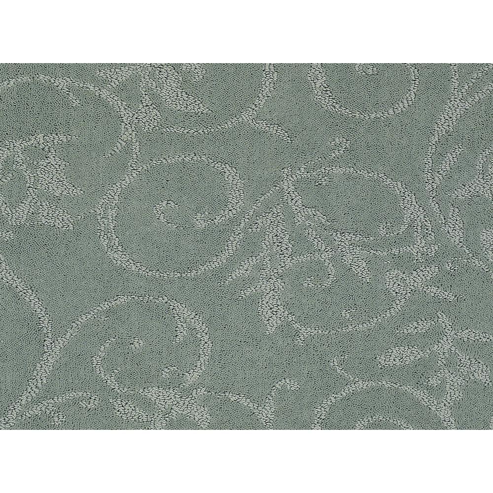Cheriton - Color Clear Lake Pattern 12 ft. Carpet