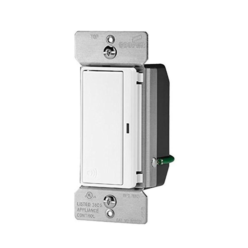 Aspire 15 Amp 120-Volt Single Pole RF Wireless Light Switch, Light