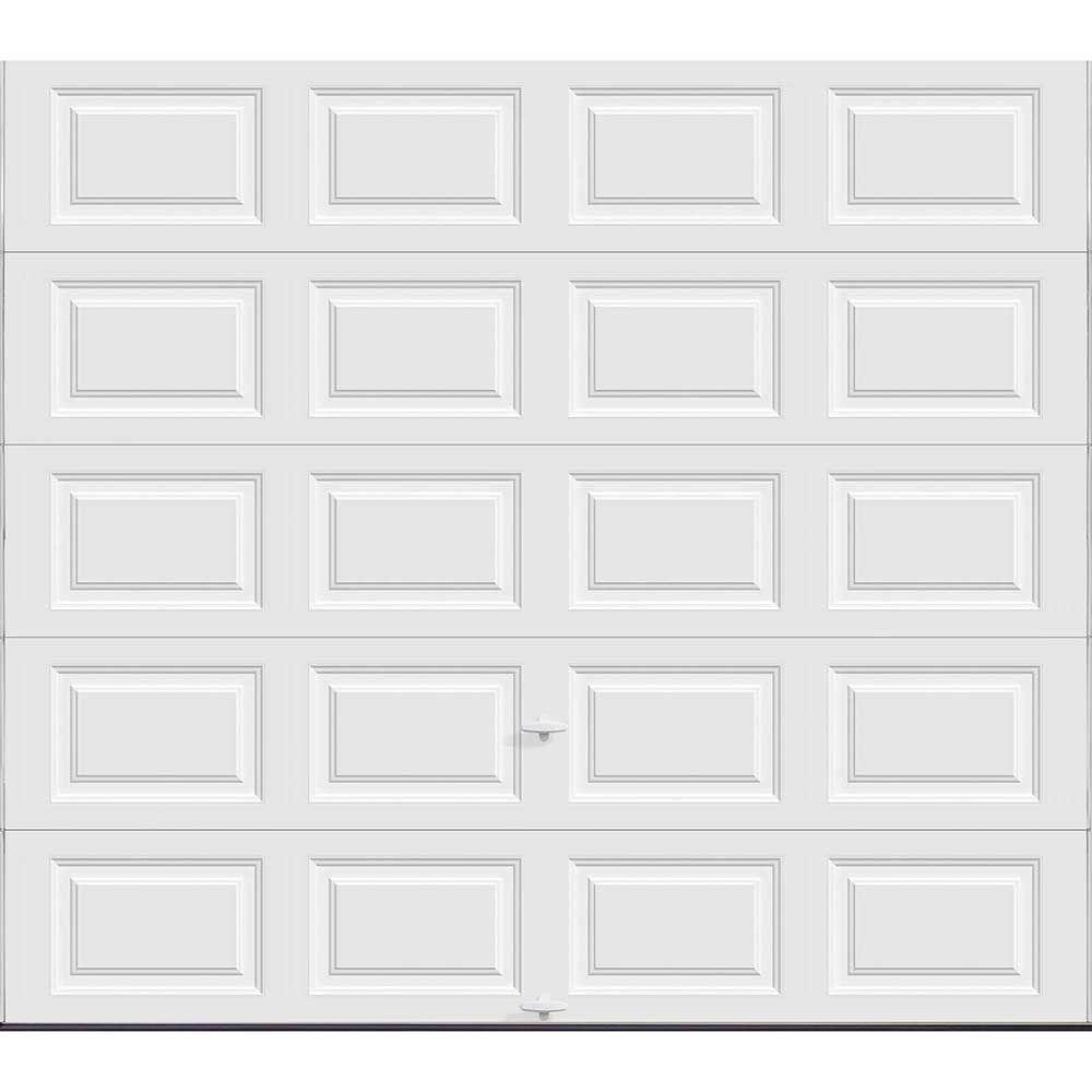 High Quality Clopay Classic Collection 9 Ft. X 7 Ft. 18.4 R Value Intellicore Insulated  Solid White Garage Door HDP20_SW_SOL   The Home Depot