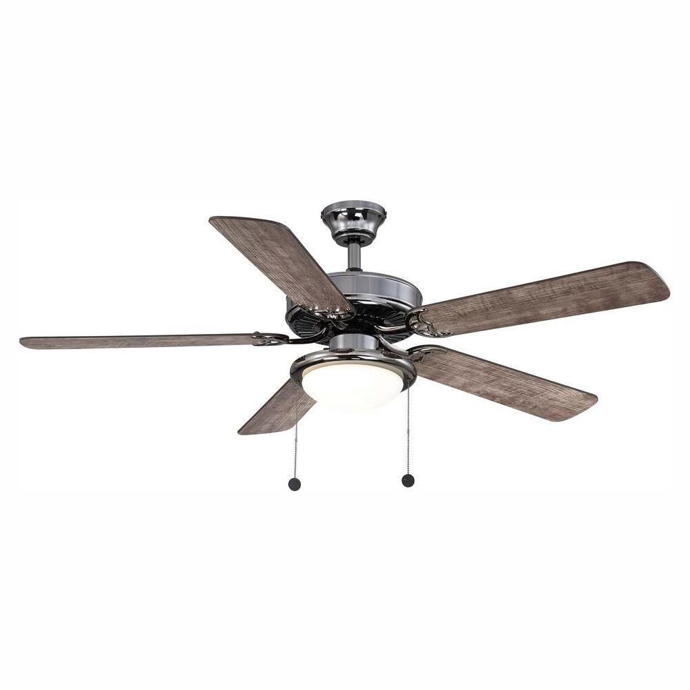 Trice 52 in. LED Gunmetal Ceiling Fan