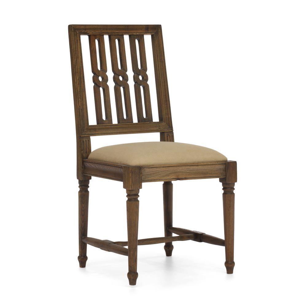 ZUO Excelsior Distressed Natural Chair