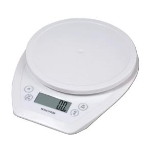 Click here to buy Taylor Digital Aquatronic Kitchen Scale in White by Taylor.