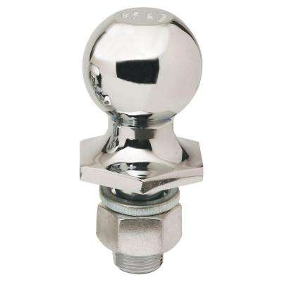 2-5/16 in. Chrome Interlock Hitch Ball