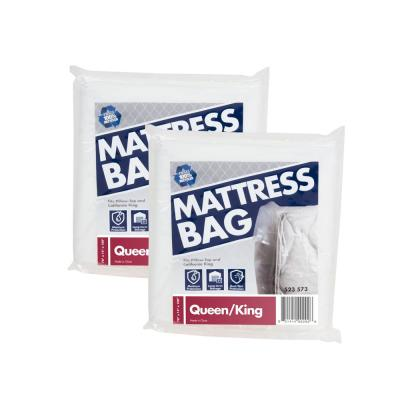100 in. x 78 in. x 14 in. Queen and King Mattress Bag (2 Pack)