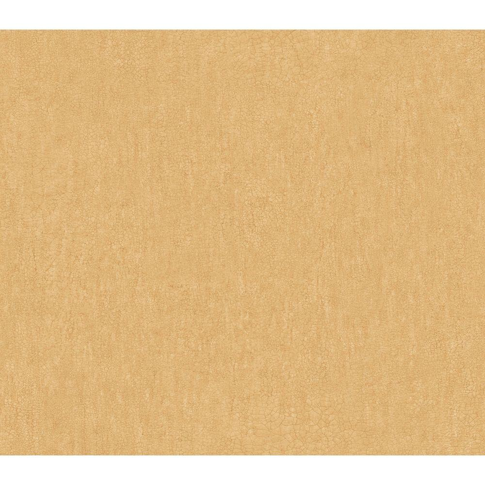 The Wallpaper Company 9 in. x 8 in. Gold Textured Crackle Wallpaper Sample