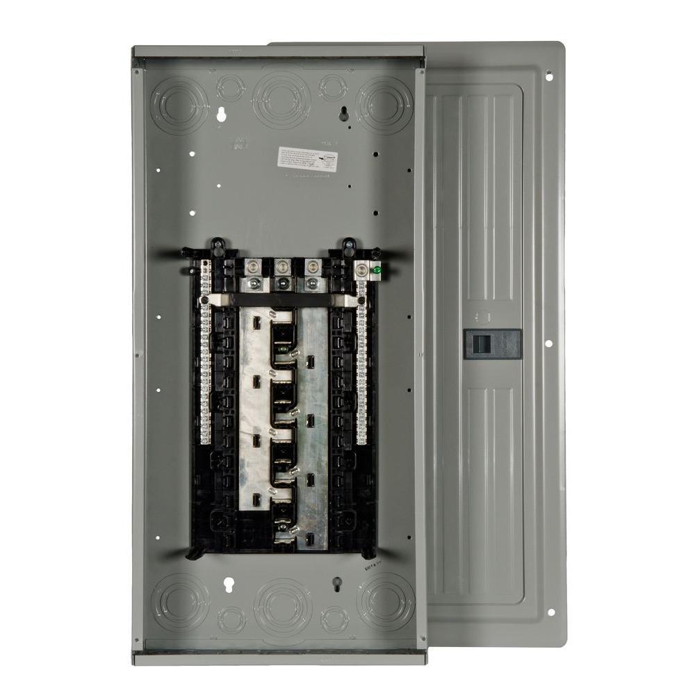 ES Series 200 Amp 24-Space 42-Circuit Main Lug Indoor 3-Phase Load Center