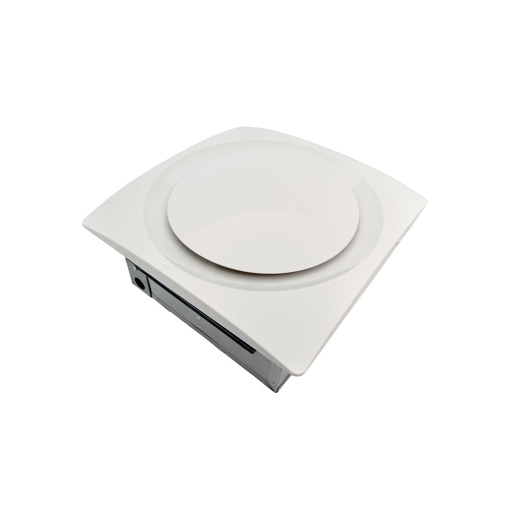Aero Pure Slim Fit 90 CFM Bathroom Exhaust Fan with Humid...