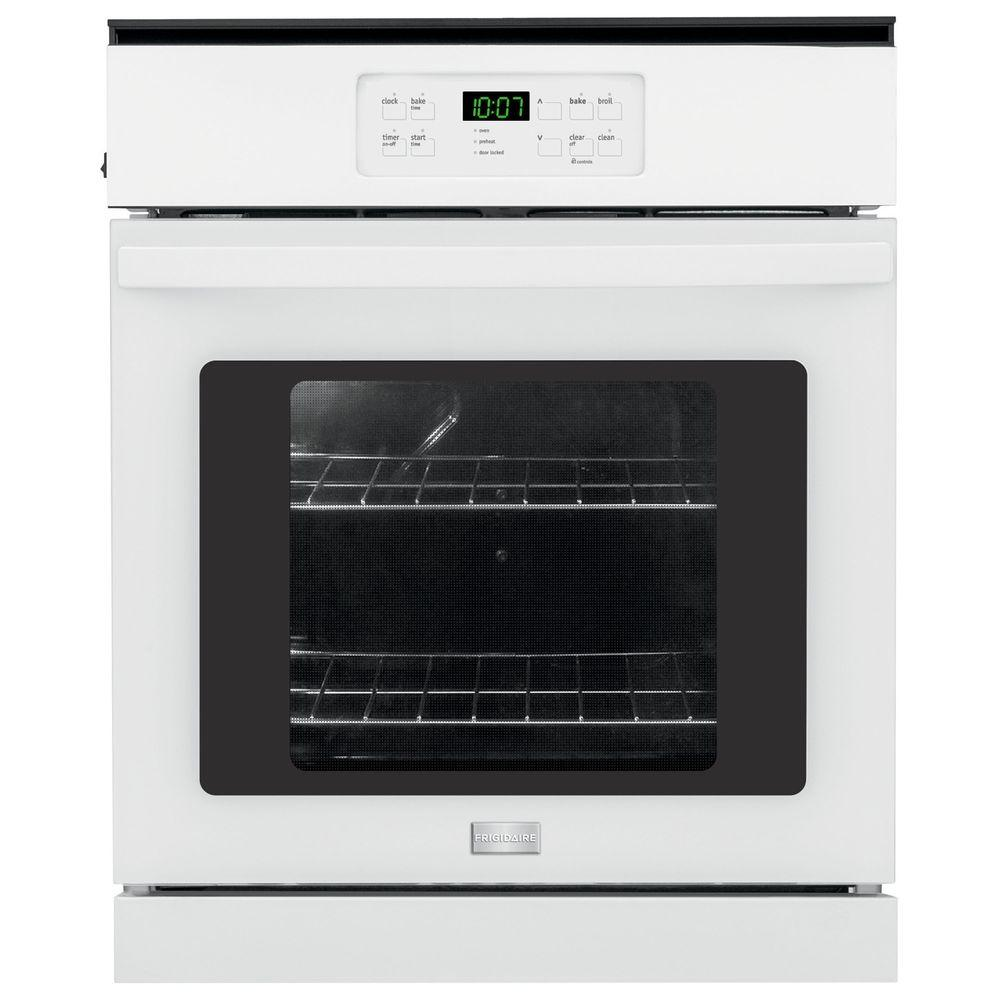 single wall oven frigidaire 24 in single electric wall oven self cleaning 10738
