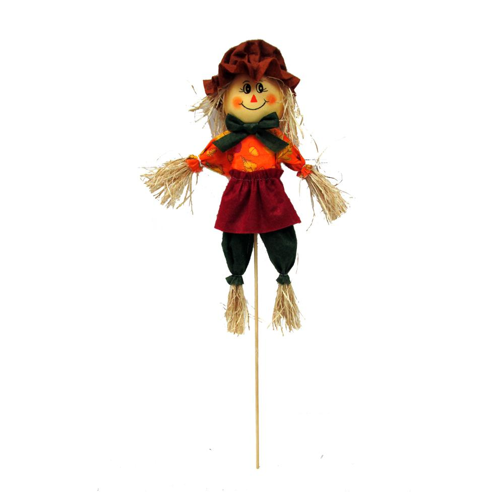 Home Accents Holiday 24 in. Harvest Scarecrow 6 Assorted